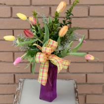 Ten Tulips For a Top Ten Mom