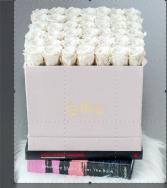 Tender Blush Love 50 Creamy Roses