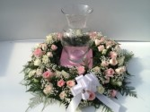 Tender Heart Urn Wreath Funeral Flowers
