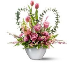Tender Hearts Floral Arrangement