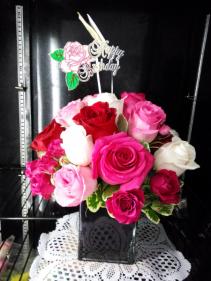 Rose Medley Bouquet  Roses