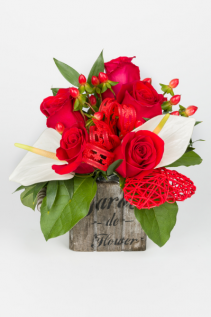 Tender Love  Valentine's Day Arrangement