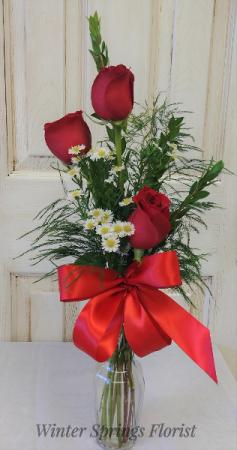Tender Love  Vase of Flowers