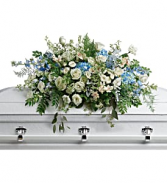 Tender Remembrance Casket Cover  T283-6A