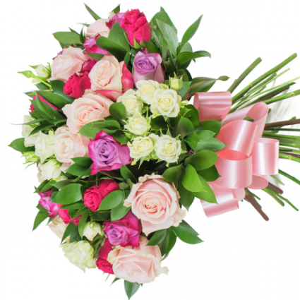 tender spring with roses Wrap BQT GEF011