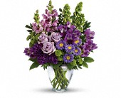 Lavender Vase Tribute Funeral, Anniversary, Birthday