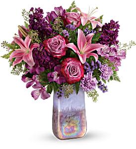 TEV57-9A Teleflora's Amethyst Jewel Bouquet