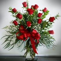 Texas Dozen  14 Red Roses