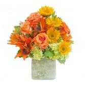 Textured Sunset Vase - As Shown (Deluxe) Vase
