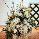 Textured Whites Funeral