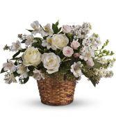 tf 232 basket of white blooms