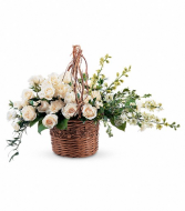 TF Basket of Light Sympathy Wicker Basket