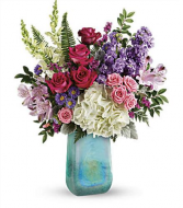 TF Regal Art Glass Glass Vase