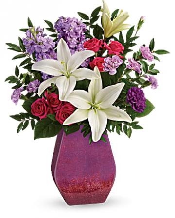 TF Regal Blossoms Vase