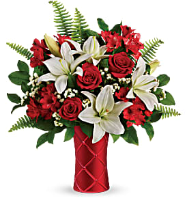 Sweetest Satin Vase arrangement
