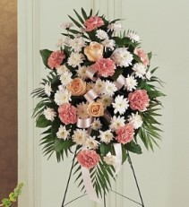 TF188-3 Gentle Thoughts Sympathy Arrangement
