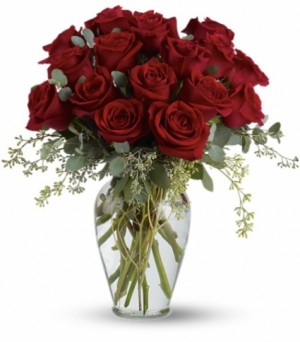 tf255 red rose tribute  in Bethel, CT | BETHEL FLOWER MARKET OF STONY HILL