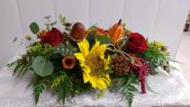 "TG-Give Thanks Beautiful Table Centerpiece 14"" long"