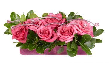 ROSES ARE PINK Floral Arrangement