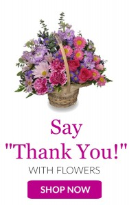 Thank You  in Granville, NY | The Florist at Mandy's Spring