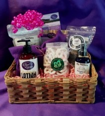 Sweets and Spa  Gift Basket