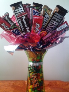 Thank You Candy Bouquet Gift Basket in Hutchinson, MN | CROW RIVER FLORAL & GIFTS