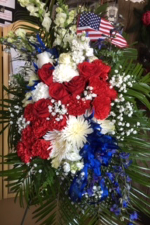 Honored for Freedom Floral Sympathy Spray in Reno, NV | Flower Bell