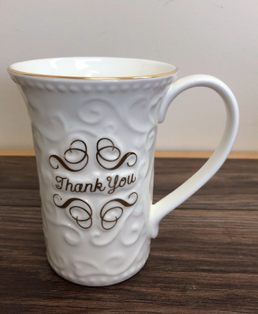 Thank you mug Fine bone China mug