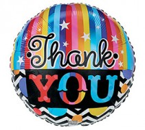 Thank You Mylar Balloon