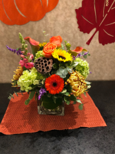 Thankful Bounty Centerpiece for Fall