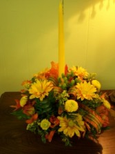 Thankful Glow  Centerpiece Arrangement