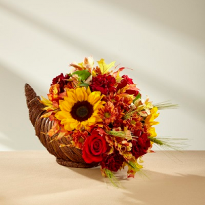 Thankful Harvest Cornucopia  in Auburn, AL | AUBURN FLOWERS & GIFTS