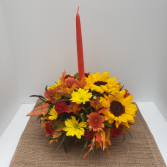 Thankful Heart centerpiece arrangement