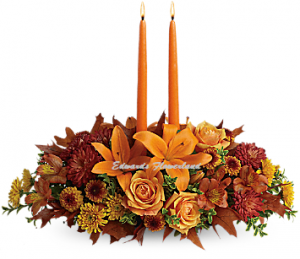 Thanks giving centerpiece Fall in Fort Morgan, CO | Edwards Flowerland
