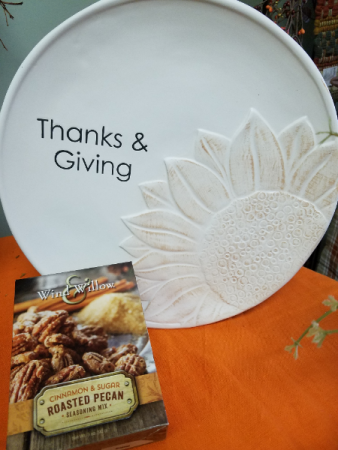 Thanks & Giving Plate Gift