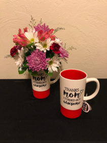 Thanks Mom! Mug Arrangement