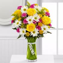Thanks  Vase Arrangement