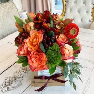 Fall Centerpiece  in Sparta, NJ | Bluet Flower Co.