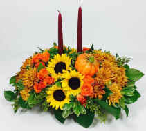 Thanksgiving At Home Centerpiece