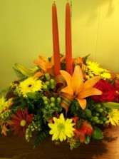 Thanksgiving Celebration! Centerpiece Arrangement