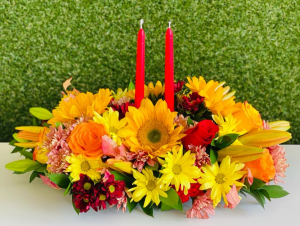 Thanksgiving Center Piece  in Tamarac, FL | Ellie Flowers and Gift Shop