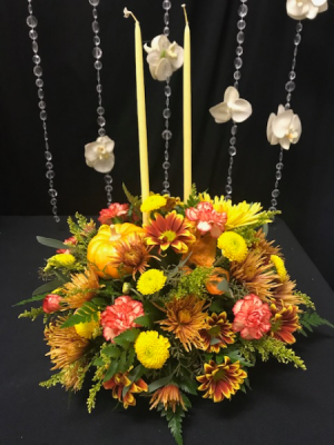 Thanksgiving centerpiece in Somerville, MA | BOSTONIAN FLORIST
