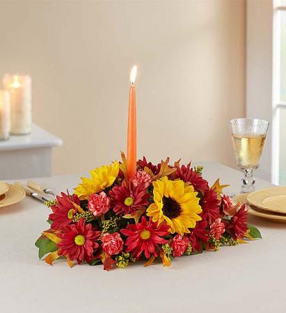 Thanksgiving Centerpiece Floral Workshop
