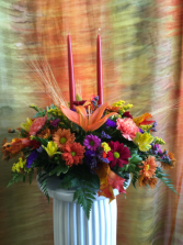 Thanksgiving Centerpiece Fresh Arrangement