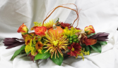 Thanksgiving Centerpiece Fresh Floral Design