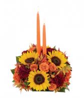 Thanksgiving Centerpiece fresh flowers