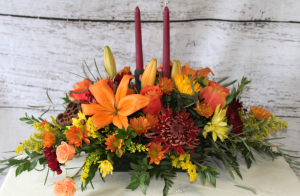 For your table Thanksgiving Centerpiece in Stevensville, MT | WildWind Floral Design Studio