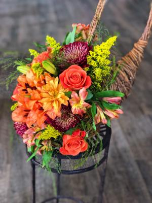 Thanksgiving Cornucopia   in North Wilkesboro, NC | Bella's Floral & Designs