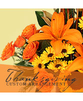Thanksgiving Custom Arrangement
