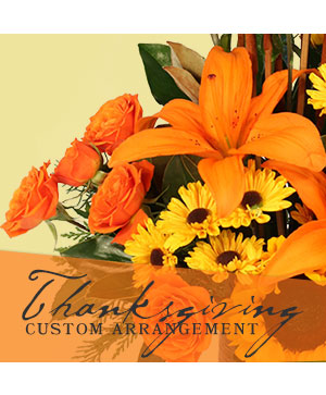 Thanksgiving Custom Arrangement  in Margate, FL | FLOWERS BY PROMOIDEA